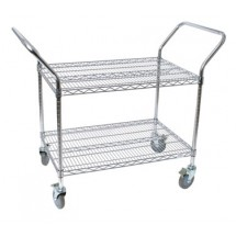 Johnson Rose 31836 Utility Cart Wire Shelves 18