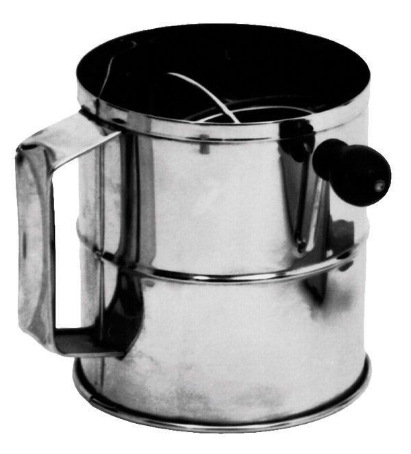 Johnson Rose 33766 3 lb Capacity Rotary Flour Sifter