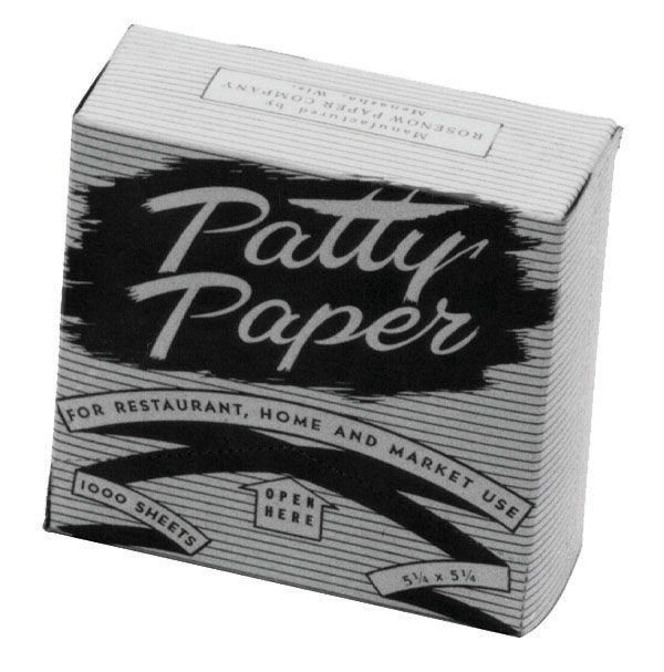 Johnson Rose 3668 Hamburger Patty Paper  5-1/4
