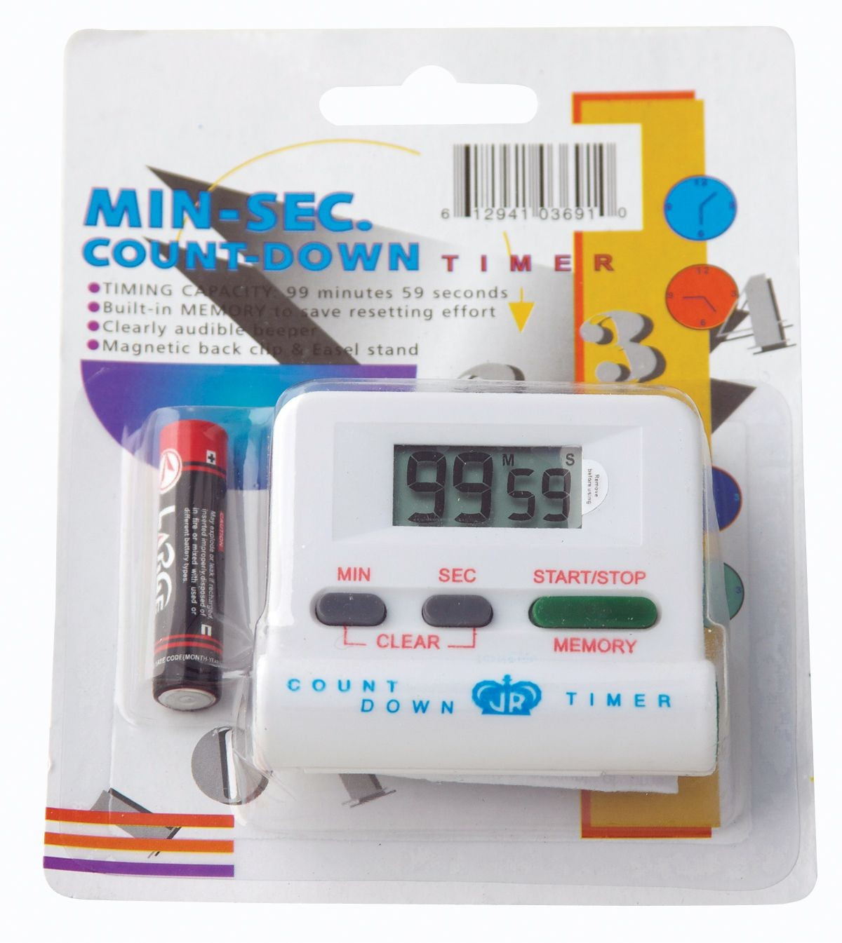 Johnson Rose 3691 Electronic Digital Timer