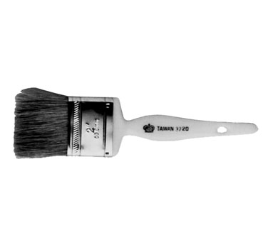 "Johnson Rose 3725 2-1/2"" Wide Natural Bristle Pastry Brush"