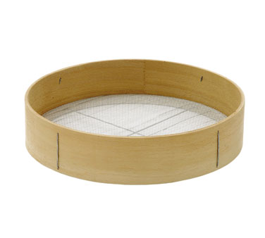 Johnson Rose 3912 Wood Rim Sieve 12""