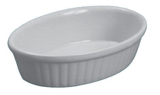 Johnson Rose 4004 9 oz Oval Baking Dish - 1 doz