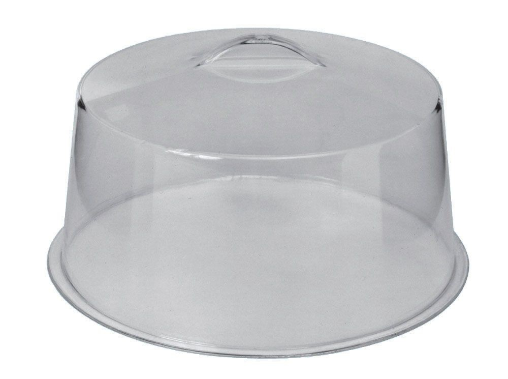 "Johnson Rose 4150 Plexiglass Cake Cover 5"" X 12"""