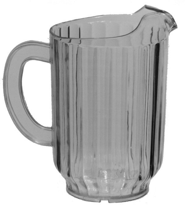 Johnson Rose 4152 Plastic Beer / Water Pitcher 32 oz