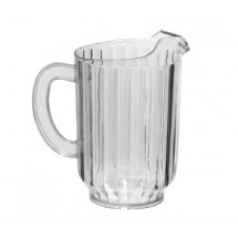 Johnson Rose 4160  Plastic Beer / Water Pitcher  60 oz