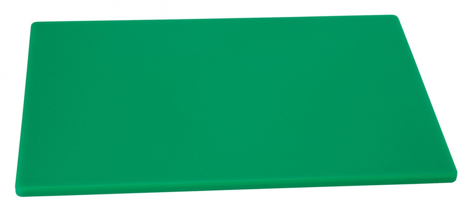 "Johnson Rose 4334 Green Poly Cutting Board 12"" x 18"""