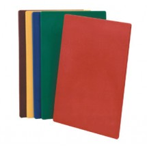 """Johnson Rose 4351 Red Poly Cutting Board 18"""" x 24"""""""