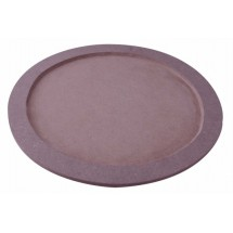 "Johnson Rose 4497 12"" Round Sizzle Platter Base With Moisture Resistant Base"