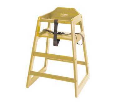 Johnson Rose 45042 Natural Wood High Chair