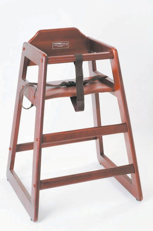 Johnson Rose 4505 Mahogany High Chair