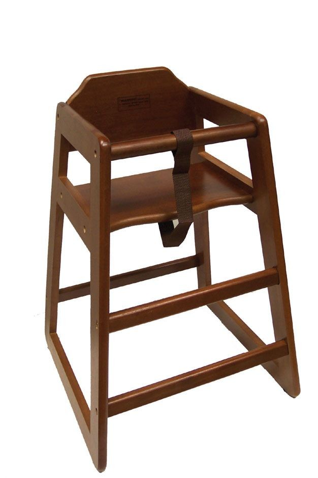Johnson Rose 4506 Walnut High Chair