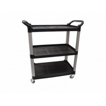 Johnson Rose 4533  Bus Cart With 3 Shelves