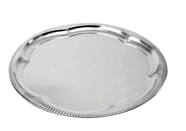 Johnson Rose 47014  Round Serving Tray 14