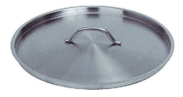 "Johnson Rose 4709 Stainless Steel Stock Pot Cover 9-1/2"" For # 4708, 4750, 4766, and 4768"