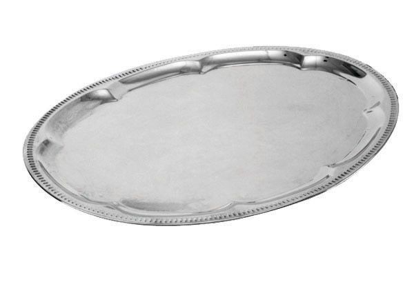 "Johnson Rose 47118 Oval Serving Tray 18"" X 13-1/2"""
