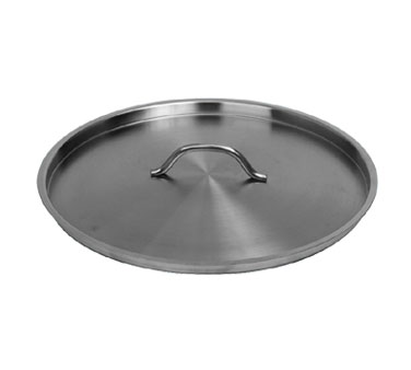"Johnson Rose 4725 Stainless Steel Stock Pot Cover 13"" For # 4724 and 4753"