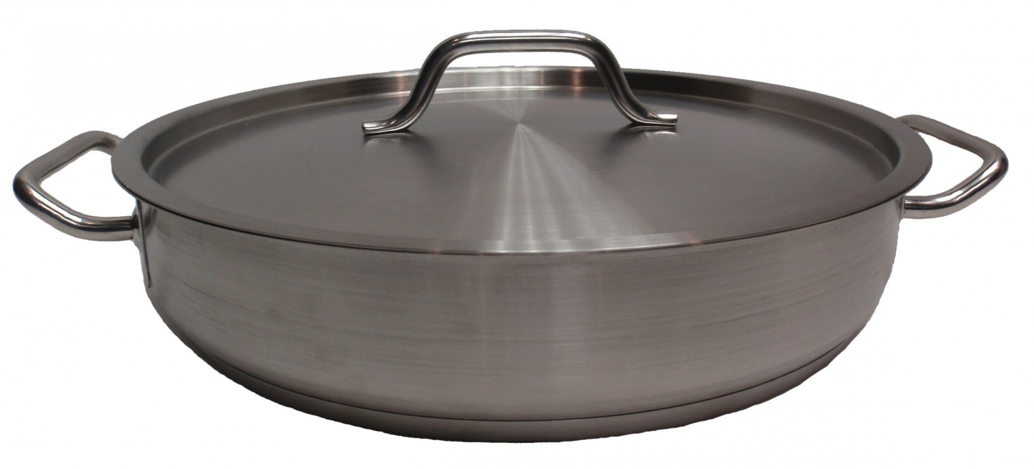 Johnson Rose 47782 Crown Select Brazier with Cover 8 Qt.