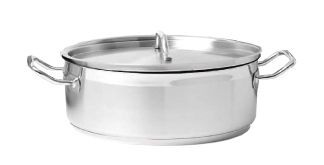 Johnson Rose 47830 Crown Select Induction Brazier with Cover 13 Qt.