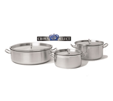 Johnson Rose 47880 Crown Select Induction Brazier with Cover 18 Qt.