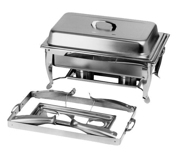 Johnson Rose 4821 Folding Frame Chafing Dish Set