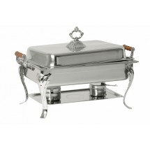 Johnson Rose 4829 Sculpted Chafer with Wooden Handles
