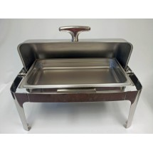 Johnson Rose 4831 Full Size Roll Top Chafer
