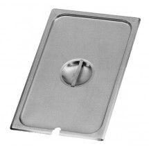 Johnson Rose 51201 1/2-Size Slotted Steam Table Pan Cover for Anti-Jam Pans