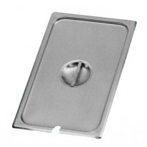 Johnson Rose 51401 1/4-Size Slotted Steam Table Pan Cover for Anti-Jam Pans