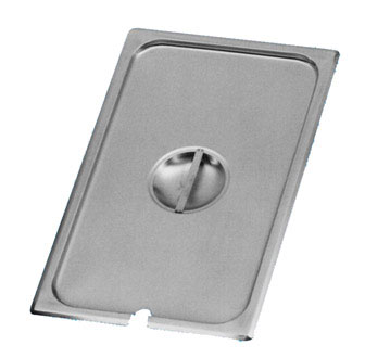 Johnson Rose 51401 1/4-Size Slotted Steam Table Pan Cover for Anti-Jam Pan