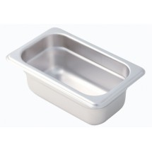 Johnson Rose 57902 1/9-Size Steam Table Pan 5/8 Qt. Capacity
