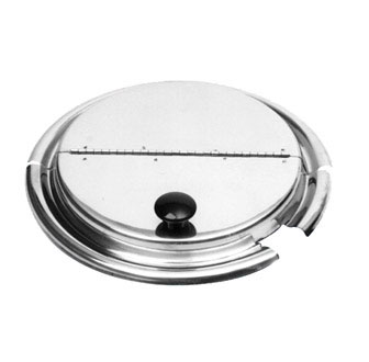 Johnson Rose 5830 Slotted Hinged Inset Cover Fits 11 Qt. Pan