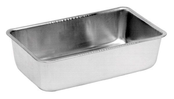 "Johnson Rose 61008 Aluminum Loaf Pan 9-1/4"" x 5-1/8"" x 2-1/2"""
