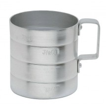 Johnson Rose 6150 Aluminum Dry Baker's Measure 1/2 Qt.