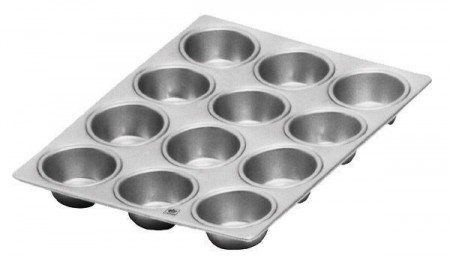 """Johnson Rose 6262 12 Cup Muffin Pan 3-1/2 oz. Cup 14"""" x 10-1/2"""""""