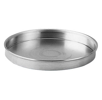 "Johnson Rose 63208 8"" X 1"" Deep Dish Pizza / Cake Pan With Beaded Edge"