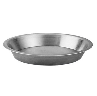 Johnson Rose 64509 Aluminum Tapered Pie Pan 9""