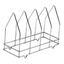 Johnson Rose 6490 4-Section Pizza Screen Rack  14-1/2
