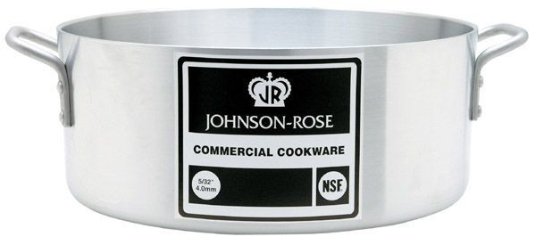 Johnson Rose 6555 Black Label Aluminum Brazier 15 Qt.