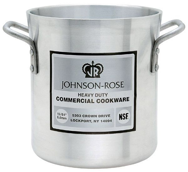 Johnson Rose 65708 Heavy Duty Stock Pot 8 Qt.
