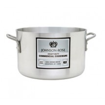 Johnson Rose 65834 Aluminum  Sauce Pot 34 Qt.