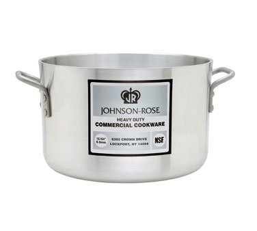 Johnson Rose 65840 Heavyweight Aluminum Sauce Pot 40 Qt.