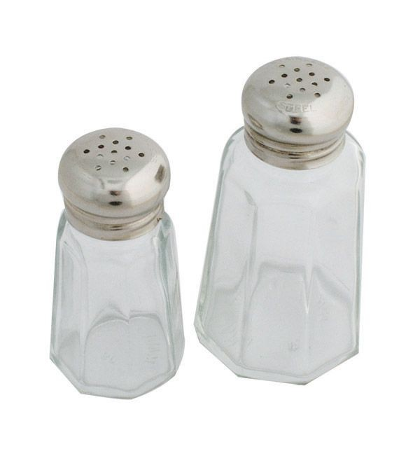 Johnson Rose 6650 1 oz Mushroom Top Salt / Pepper Shaker - 1 doz
