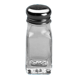 Johnson Rose 66722 2 oz Glass Salt & Pepper Shaker JAR ONLY - 1 doz