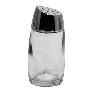 Johnson Rose 66791 2 oz Glass Salt & Pepper Shaker Top - 1 doz