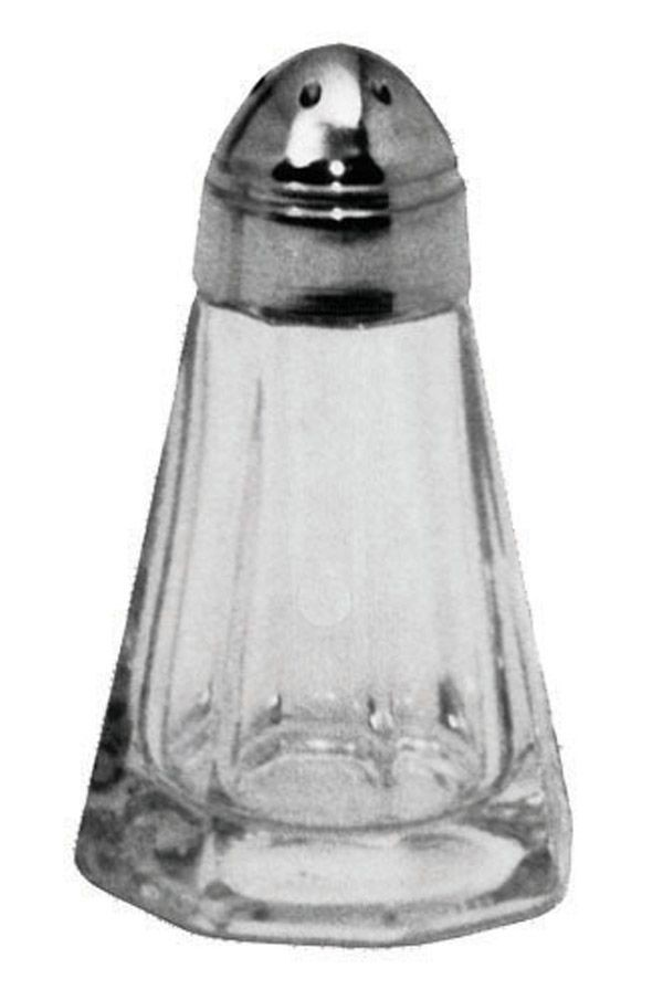 Johnson Rose 6680 1 oz Glass Salt & Pepper Shaker - 1 doz