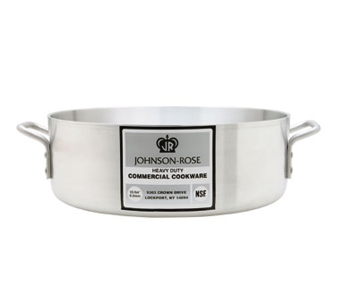 Johnson Rose 67515 Heavy Duty Aluminum Brazier 15 Qt.
