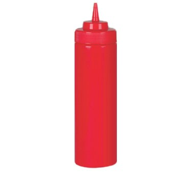 Johnson Rose 6944 24 oz Red Ketchup Squeeze Bottle