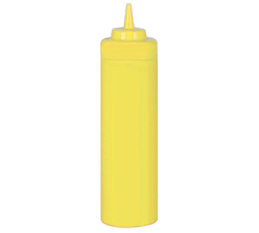 Johnson Rose 6954 24 oz Yellow Mustard Squeeze Bottle
