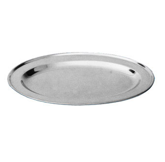 "Johnson Rose 7114 Oval Platter 14"" X 8-3/4"
